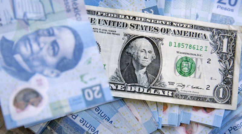 Retrocede el peso ante el dólar