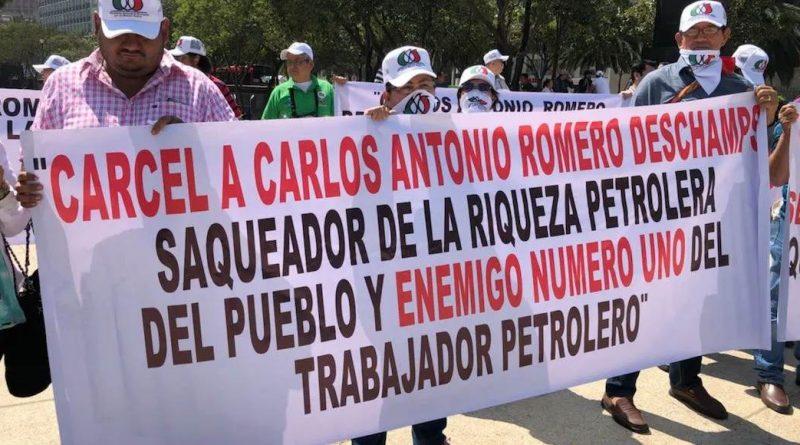 """""""La 4T, a Romero Deschamps, no le recoge lo robado""""…!"""