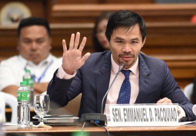 Manny 'Pacman' Pacquiao busca la presidencia de Filipinas