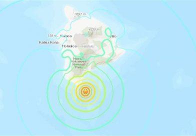 Sacuden dos sismos Isla Grande de Hawai