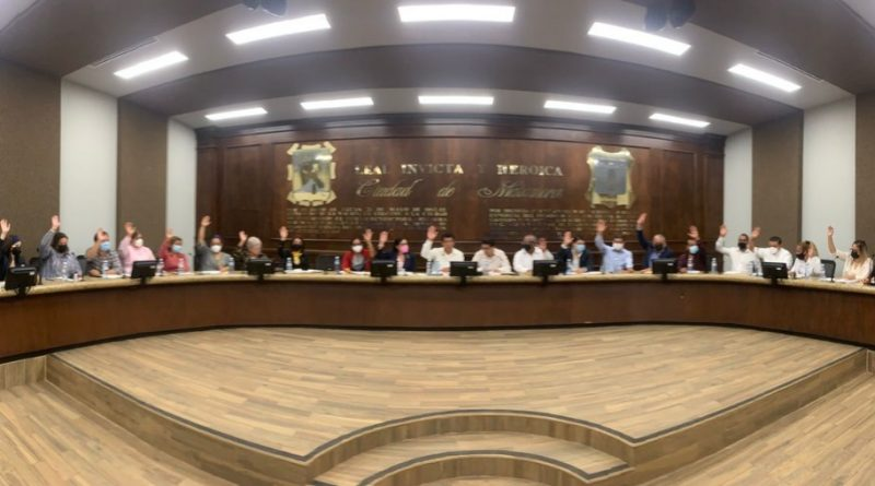 Aprueban comisiones en el Cabildo de Matamoros y condonación del 100 % en los recargos del predial y el ISAI